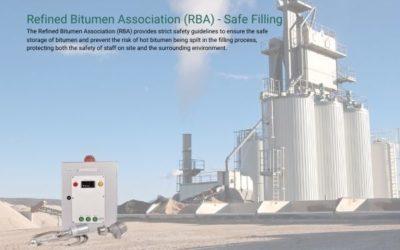 Refined Bitumen Association (RBA) Storage Tank Filling Guidelines